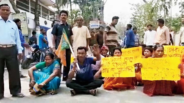 BJP, Trinamul workers hit streets against nominees in north Bengal