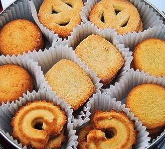 Resep Kue Kering Butter Cookies Ala Monde