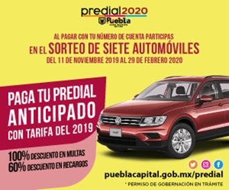 Predial Puebla 2020