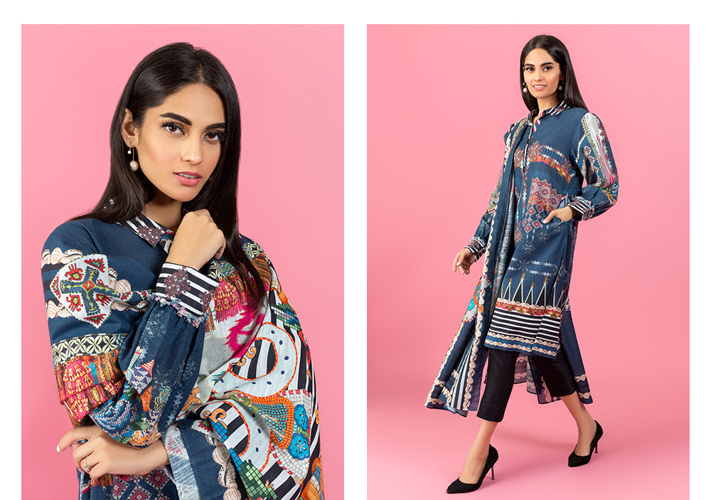 Classic Ready to Wear Khaddar Collection by Ideas Pret