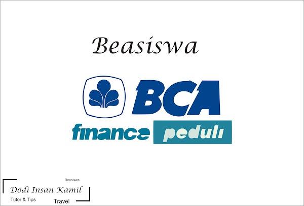 Beasiswa BCA Finance Peduli 2019 Untuk Mahasiswa S1 Seluruh Indonesia