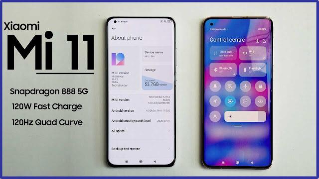 مميزات شاومى مى 11  سعر ومواصفات هاتف Xiaomi Mi 11