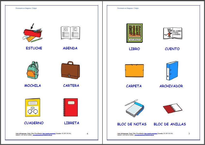 Mis materiales al y pt el colegio for Dependencias de la escuela