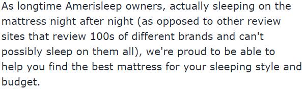Amerisleep promo codes