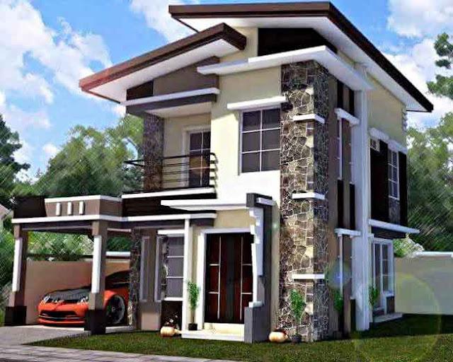 Model Desain Rumah Minimalis 2 Lantai Sederhana tapi Elegan