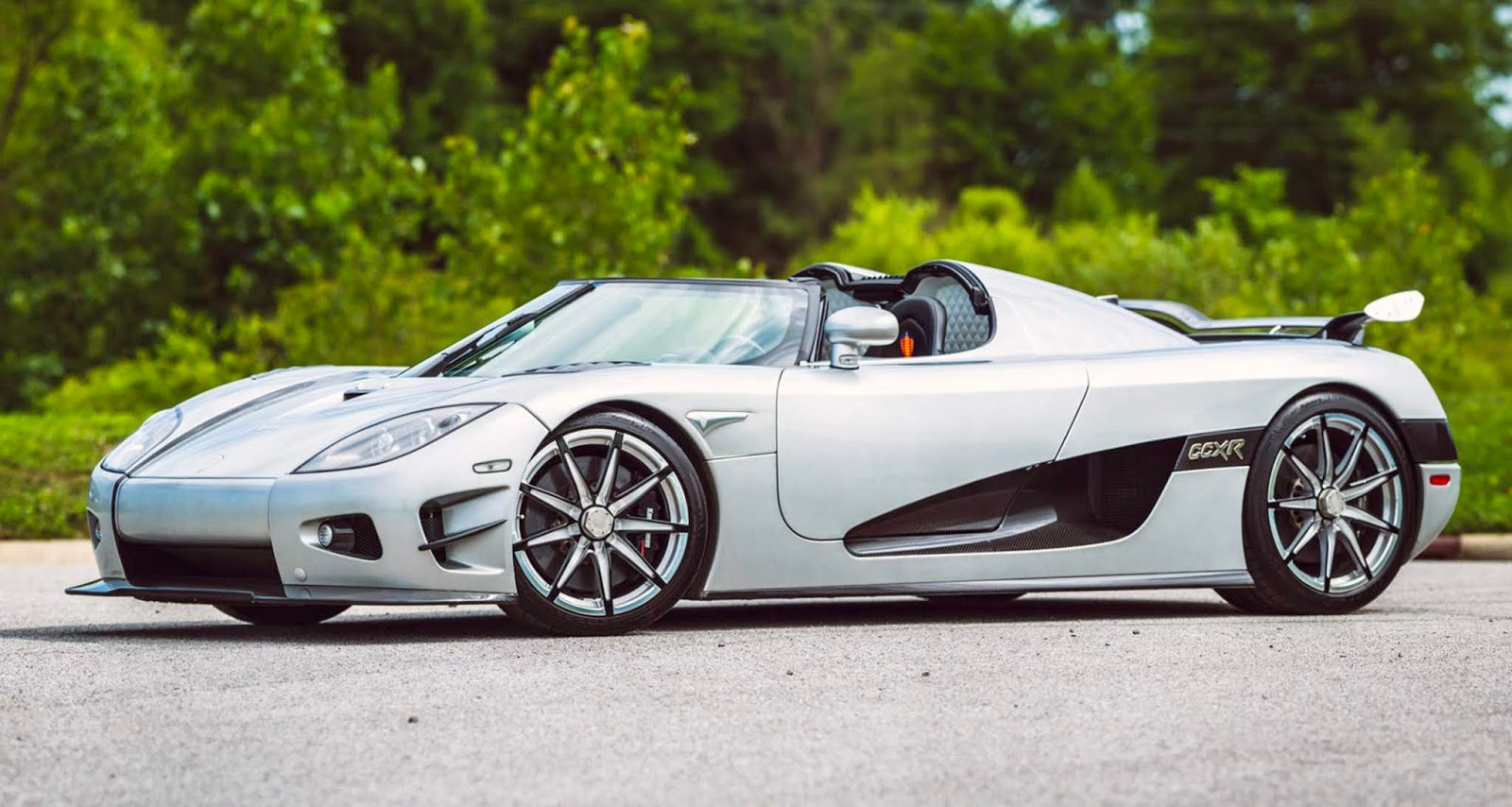 Koenigsegg CCXR Trevita: $4.8 Million