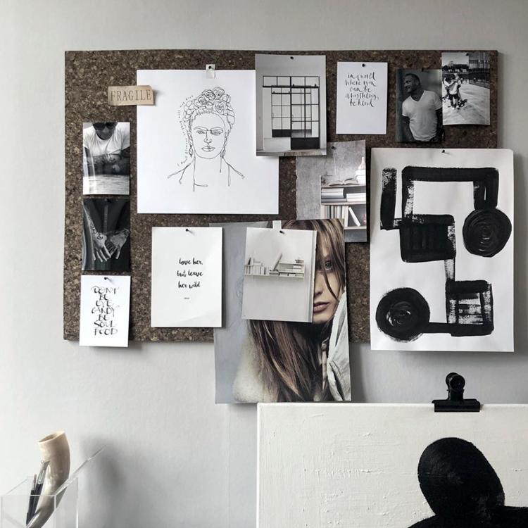 Un apartamento sueco donde el arte se convierte en protagonista