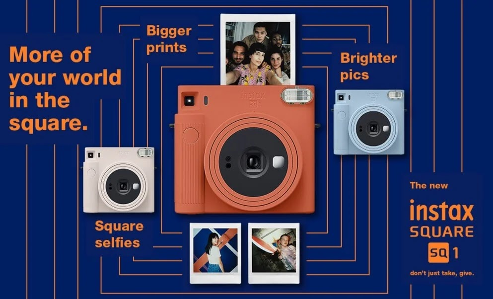Fujifilm Brings instax Square SQ1 in PH; Yours For Only Php6,999