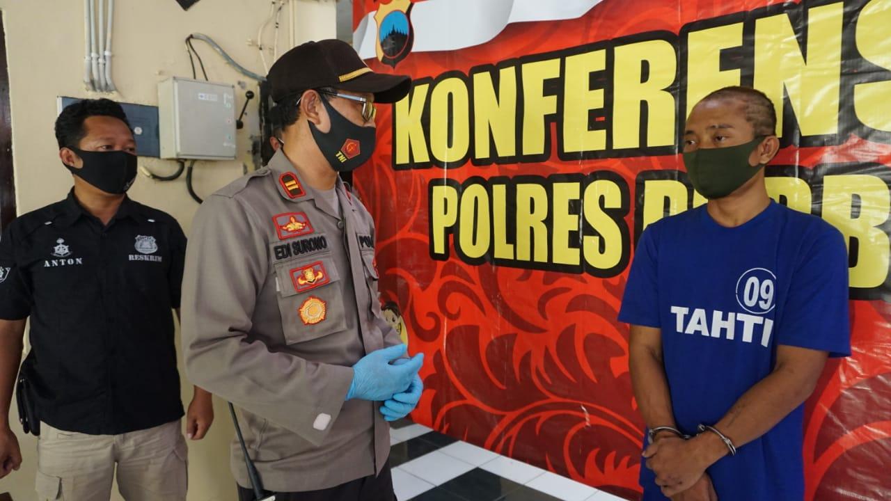 Gara-gara Batuk, Pencuri di Rumah Warga Mrebet Ditangkap Polisi