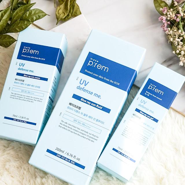 Make P:rem UV Defense Me Blue Ray Sunscreens Review Malaysia