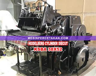 Mesin Pond Silinder Heidelberg KSBA 38X52