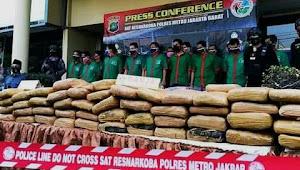 Polisi ungkap kasus Besar Narkoba, ada yang disamarkan dengan dodol