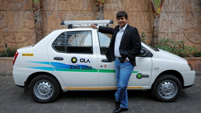 Indian Startup Success Stories ola