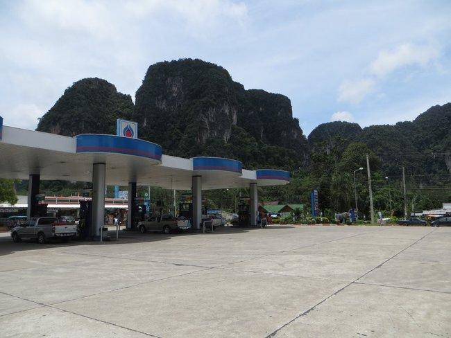 автозаправка Таиланд, Краби