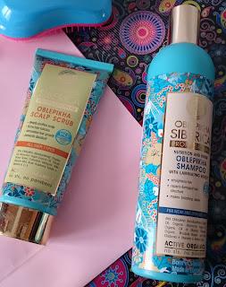 Natura Siberica - rokitnikowy szampon i scrub