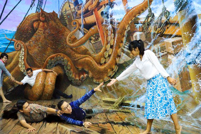 Amazing Art World Bandung, Mewujudkan Imajinasi Terindah Kita