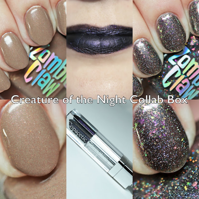 Creature of the Night Collab Box with Copacetic Cosmetics and Zombie Claw Polish