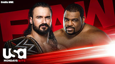WWE RAW Legends Night Keith Lee Drew McIntyre