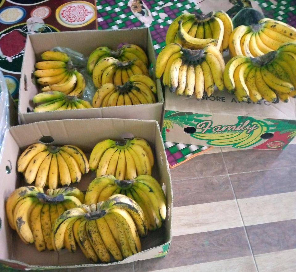 pisang cavendish matang