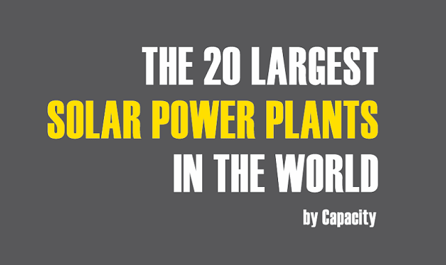 The 20 Largest Solar Power Plants in the World by Capacity