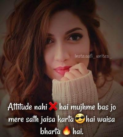 Attitude DP For Girls