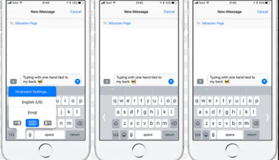 Tips dan Trik Keyboard iPhone