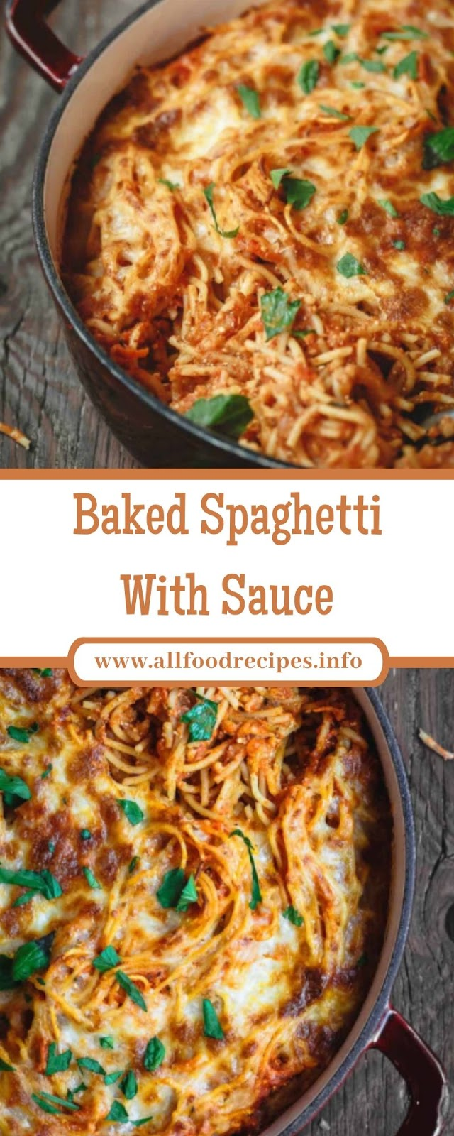 Baked Spaghetti With Sauce