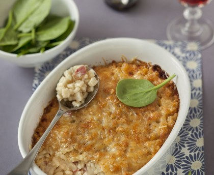 Savoyard crozets gratin