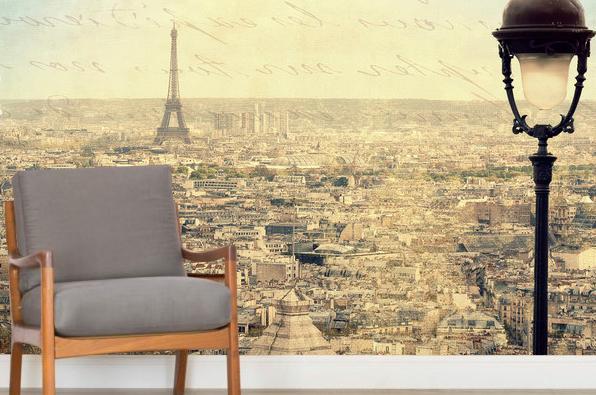 Maisematapetti Paris Tapetti Pariisi