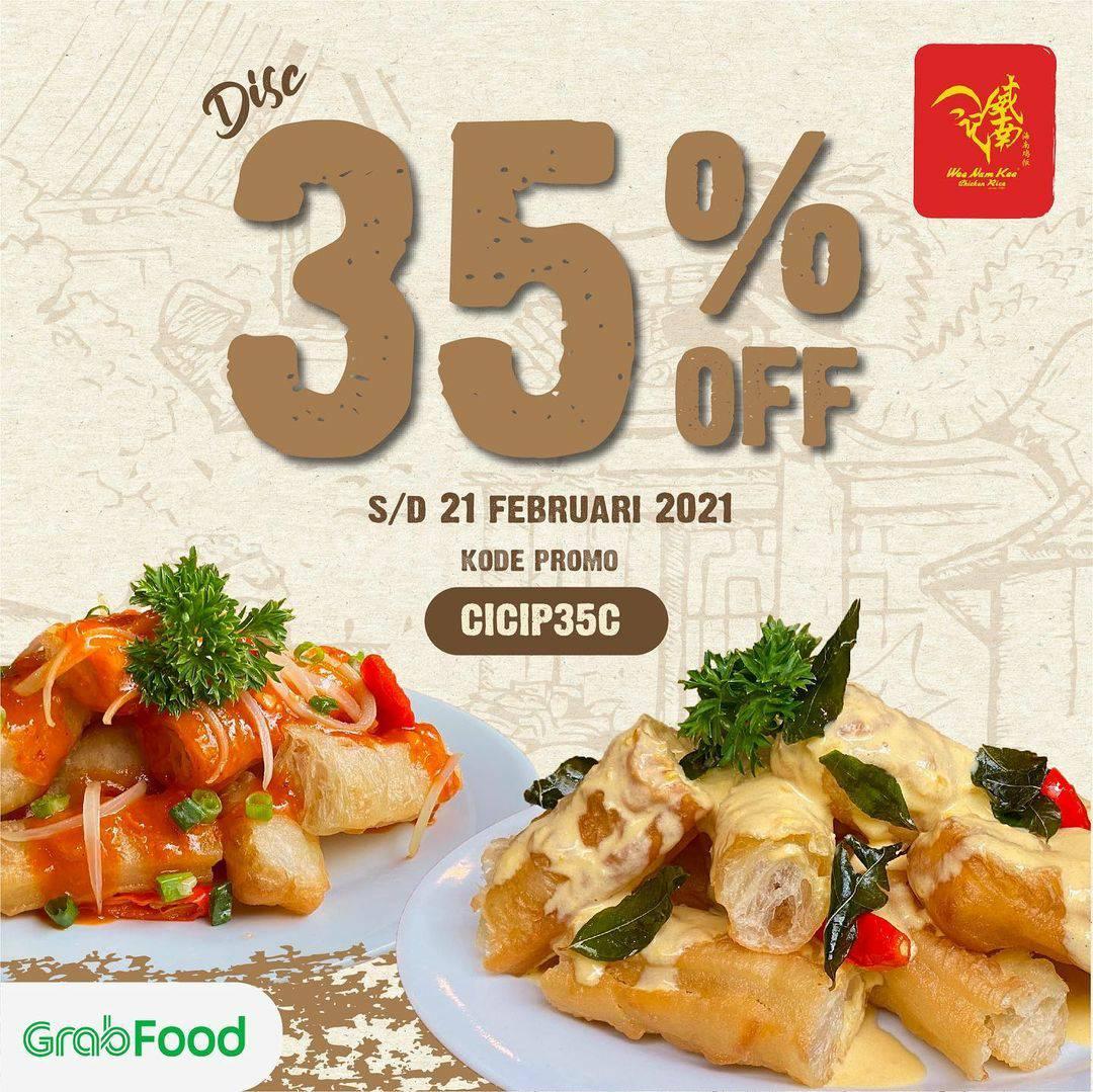 WEE NAM KEE Spesial Promo GRABFOOD! Diskon 35%
