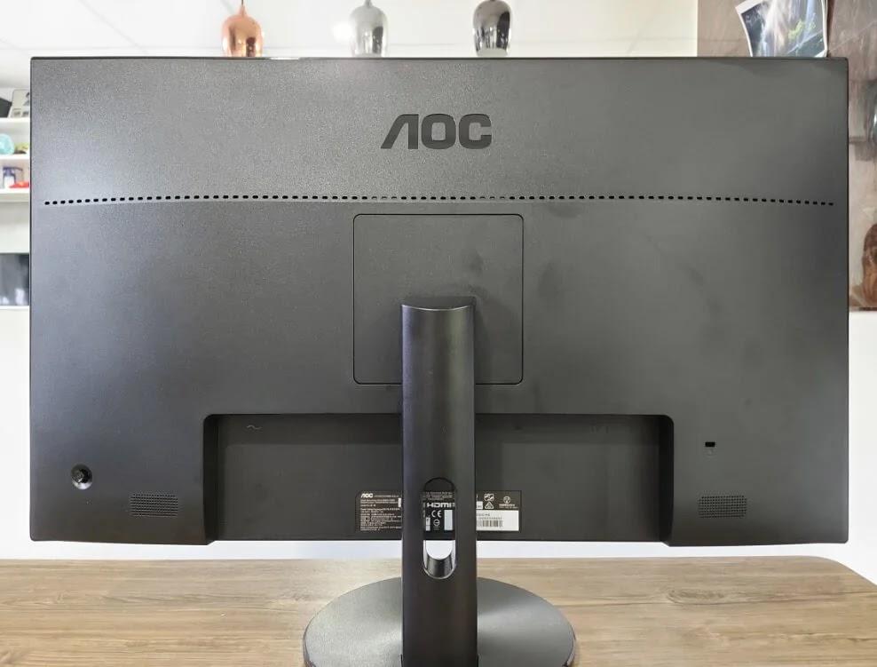 AOC U2790VQ Monitor Back