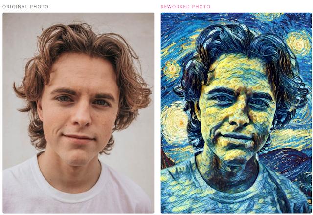 بعد فيس اب تطبيق اي بورتريه - aiportraits  يحول صور السلفي إلى لوحات فنية. بديل تطبيق فيس اب. بورتريه. تطبيقات مجانية.