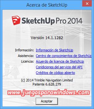 SketchUp Pro 2014 v14.1.1282 Full PC Descargar ESPAÑOL 10