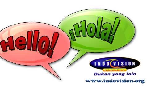 Cara Setting Bilingual atau Dua Bahasa Melalui Remote Indovision