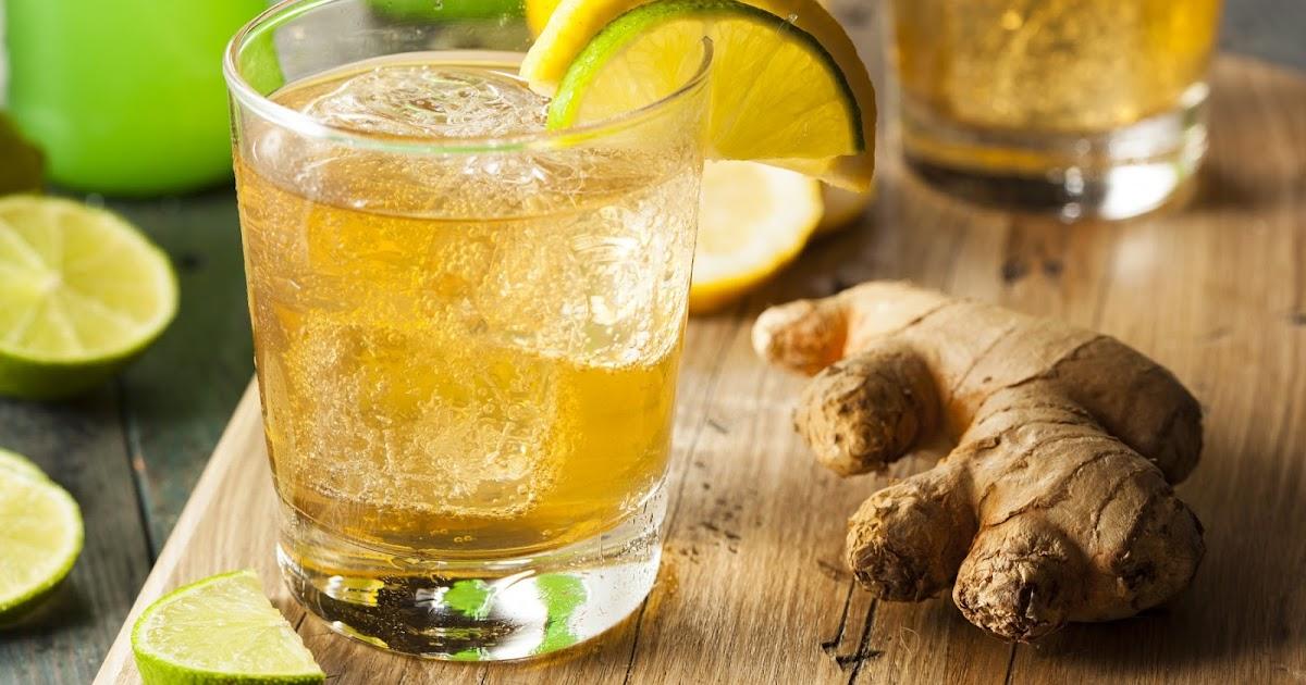 La limonada de jengibre o cúrcuma puede tratar la