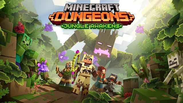 Minecraft Dungeons (Switch) receberá dois DLCs; primeiro deles será lançado em julho