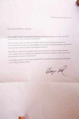 Trabalho feito em escola municipal de Registro recebe elogios do Dr. Drauzio Varella