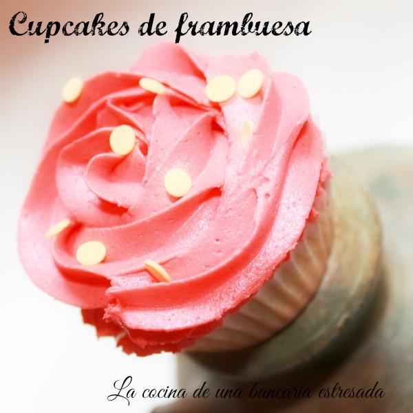 Receta de cupcakes de frambuesa paso a paso