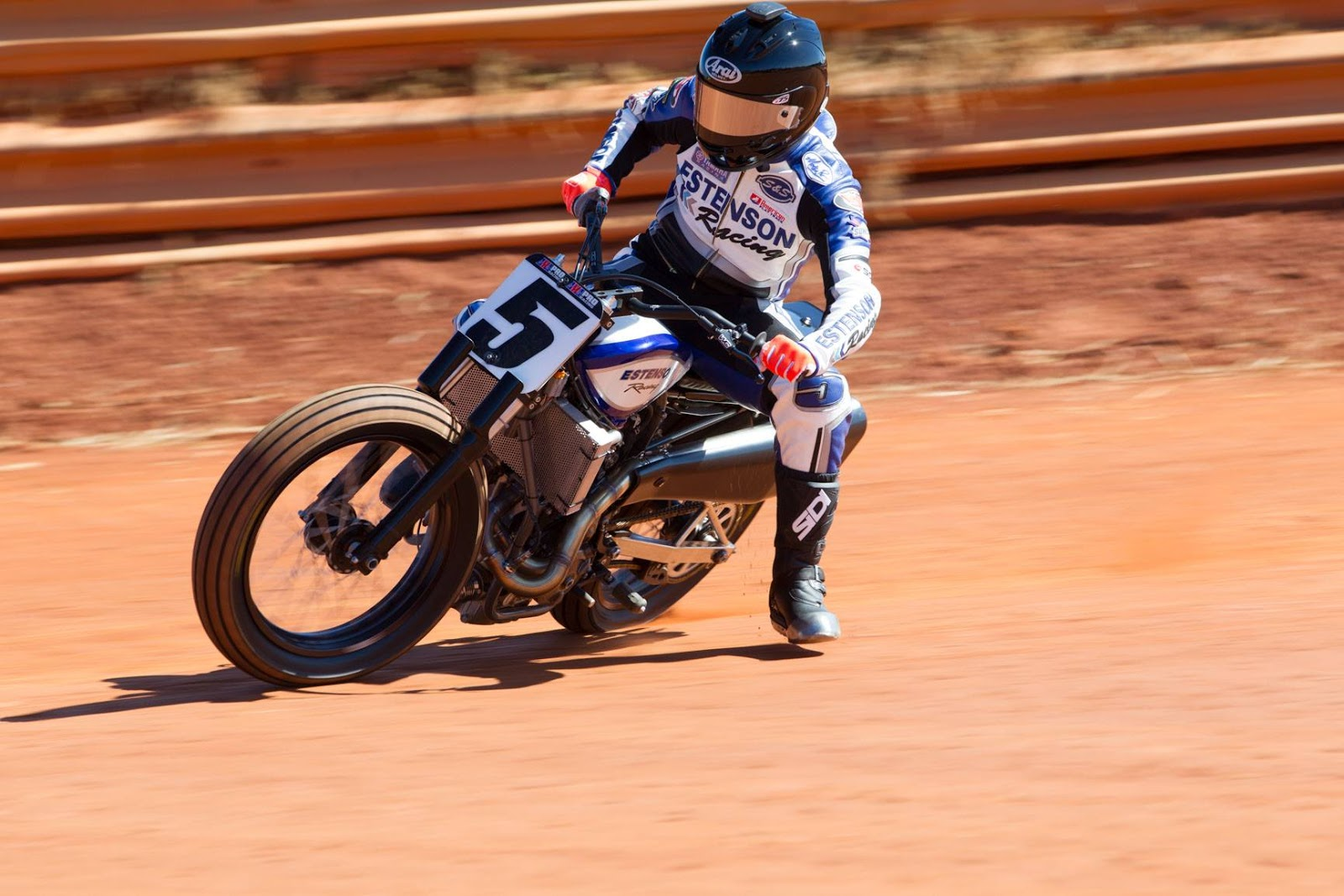 Racing Cafè Yamaha Fz 07 Flat Track By Estenson Racing