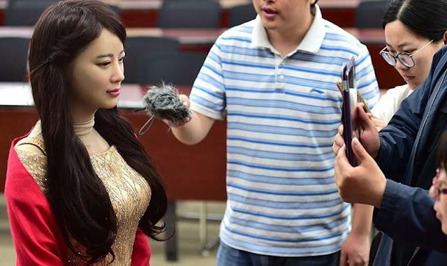 Jia Jia Robot Cantik Di Dunia Dari China