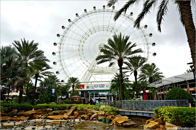 Eye Orlando en el Icon Park, Florida