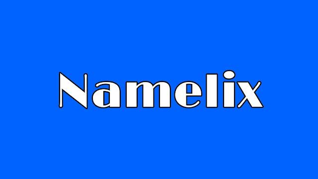 موقع namelix يقترح عليك اسم لشركتك او موقعك