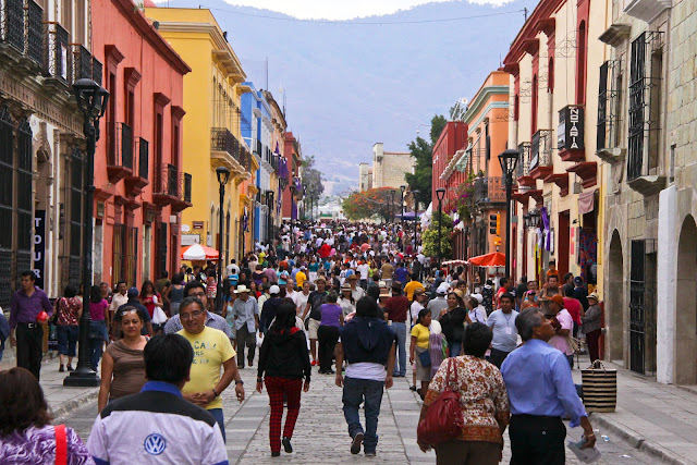 shopping in Oaxaca