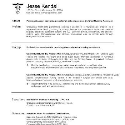 Best Cna Resume. Resume Sample Resume Sample Housekeeping Resume