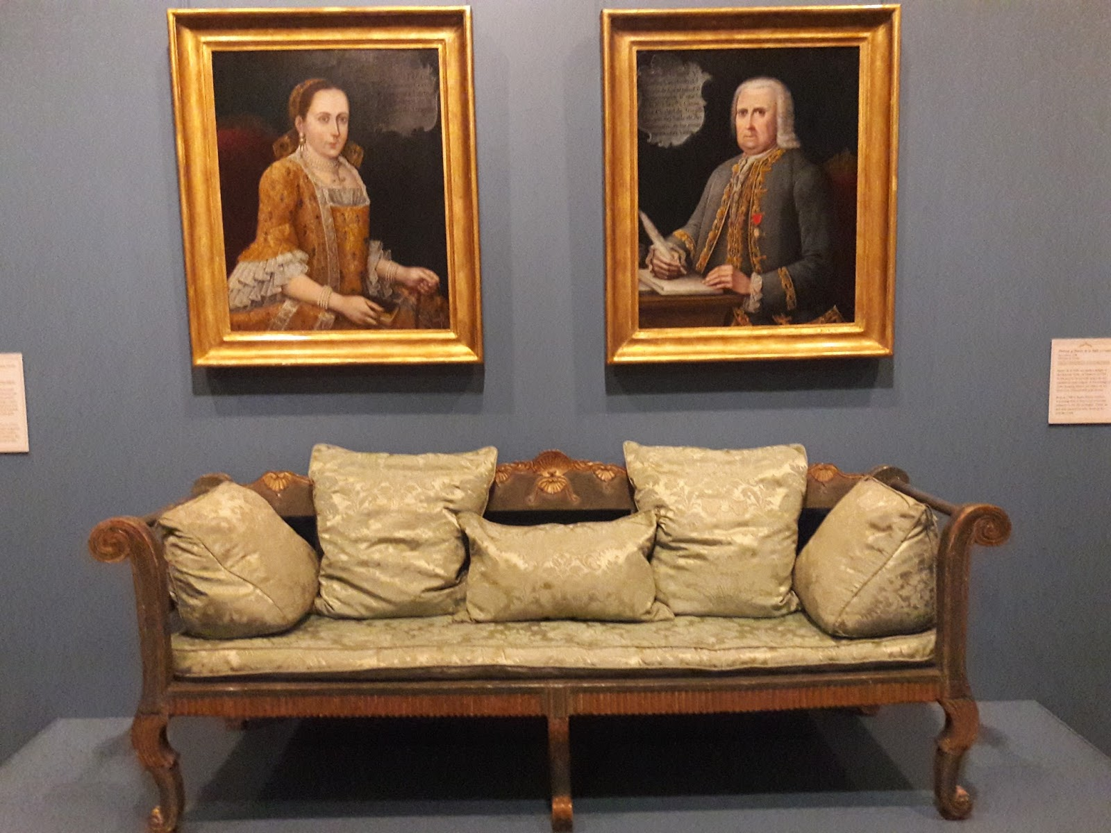 Unlike The Green Chaise Longue We Saw Earlier, Whose Silk Upholstery Was A  Modern Reproduction, This One Still Has Its