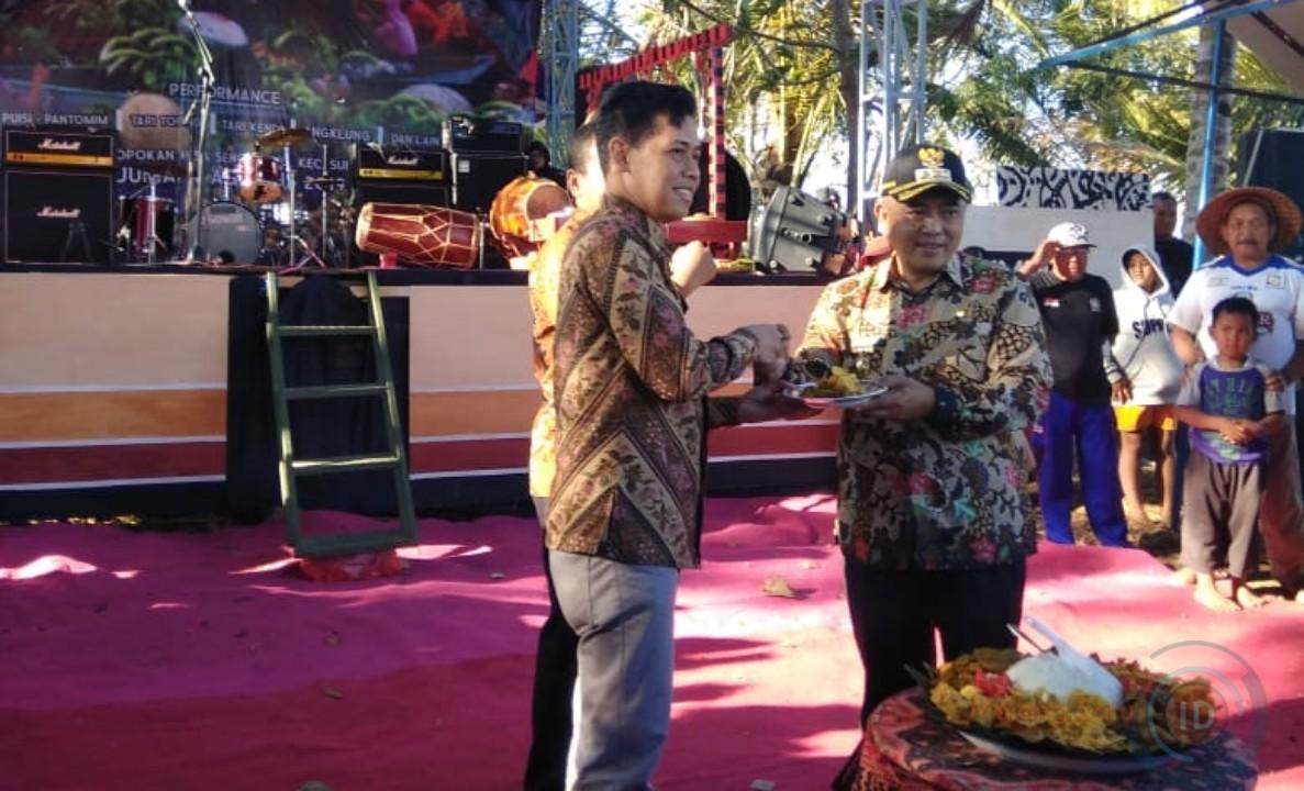 Plt Bupati Malang, Resmikan Pasar Apung Pertama Di Kab Malang