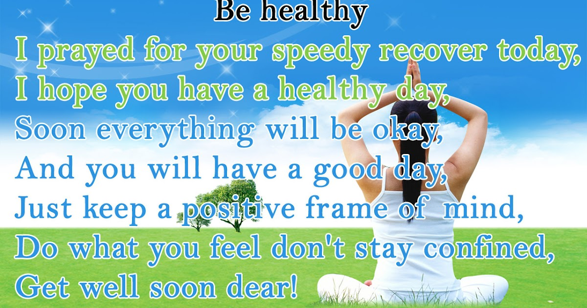 Short Health Poem Prayer For You With Wallpaper Poetry