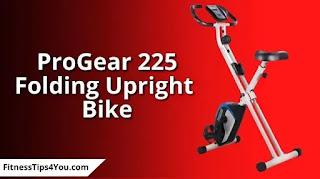 ProGear 225 Folding Magnetic Upright Exercise