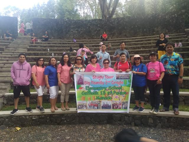 Tambah Wawasan Anak, Kelas 2 SD RK 13 St Paulus Manado  Study Tour Pekan Kreatifitas