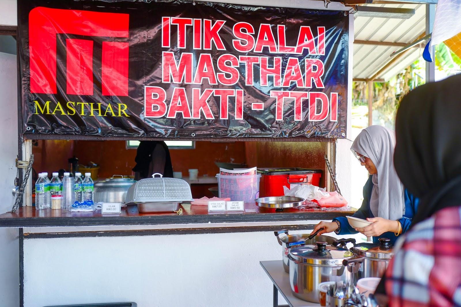 Itik Salai Masthar, Taman Tun Dr Ismail